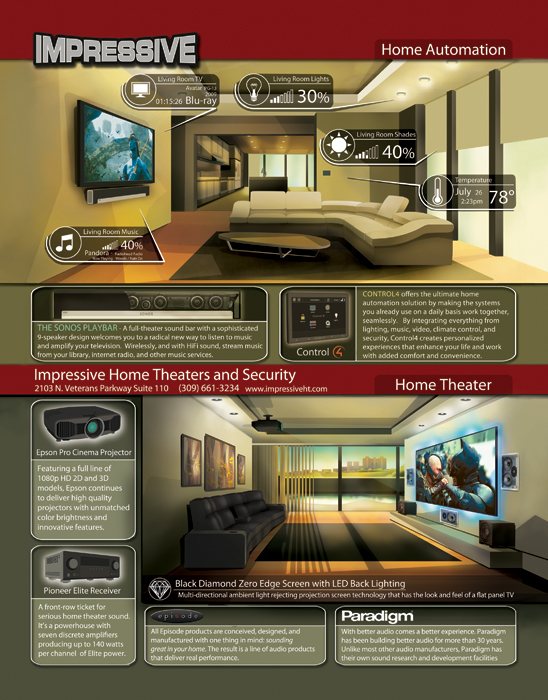 Home Theater Design Two